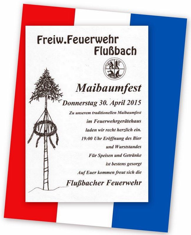 1-Maibaumfest 2015 mit Bannerfarben neuform