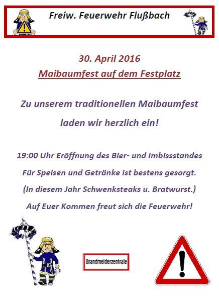 Maibaumfest 2016